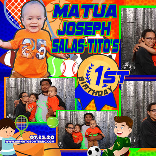 Matua's First Birthday