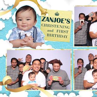Zanjoe's First Birthday and Christening