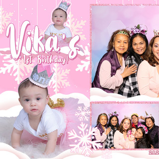 Vika's 1st Birthday