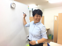 授業風景(石川さん)