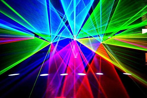 Show laser toutes puissances*