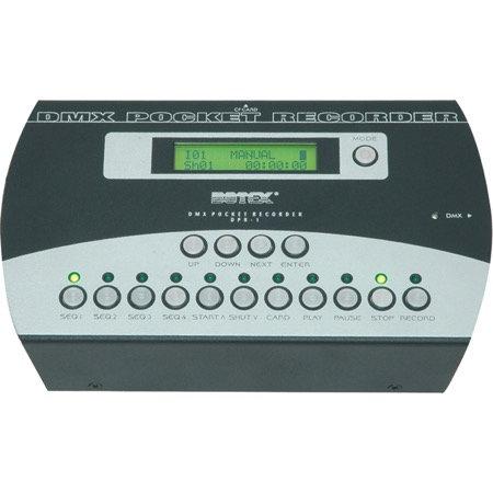 Enregistreur/restituteur DMX - format boîtier compact