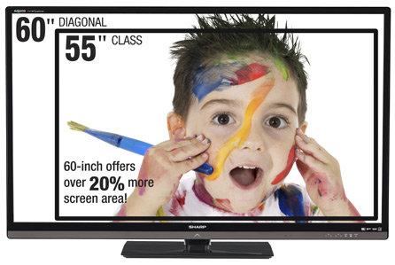 "Ecran LED 55"" HD"