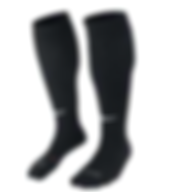 Nike Classic II BlackWhite Football Sock