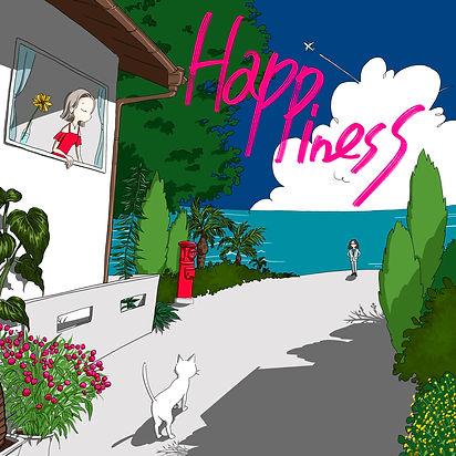 ジャンク フジヤマ「Happiness」ジャケット.jpeg