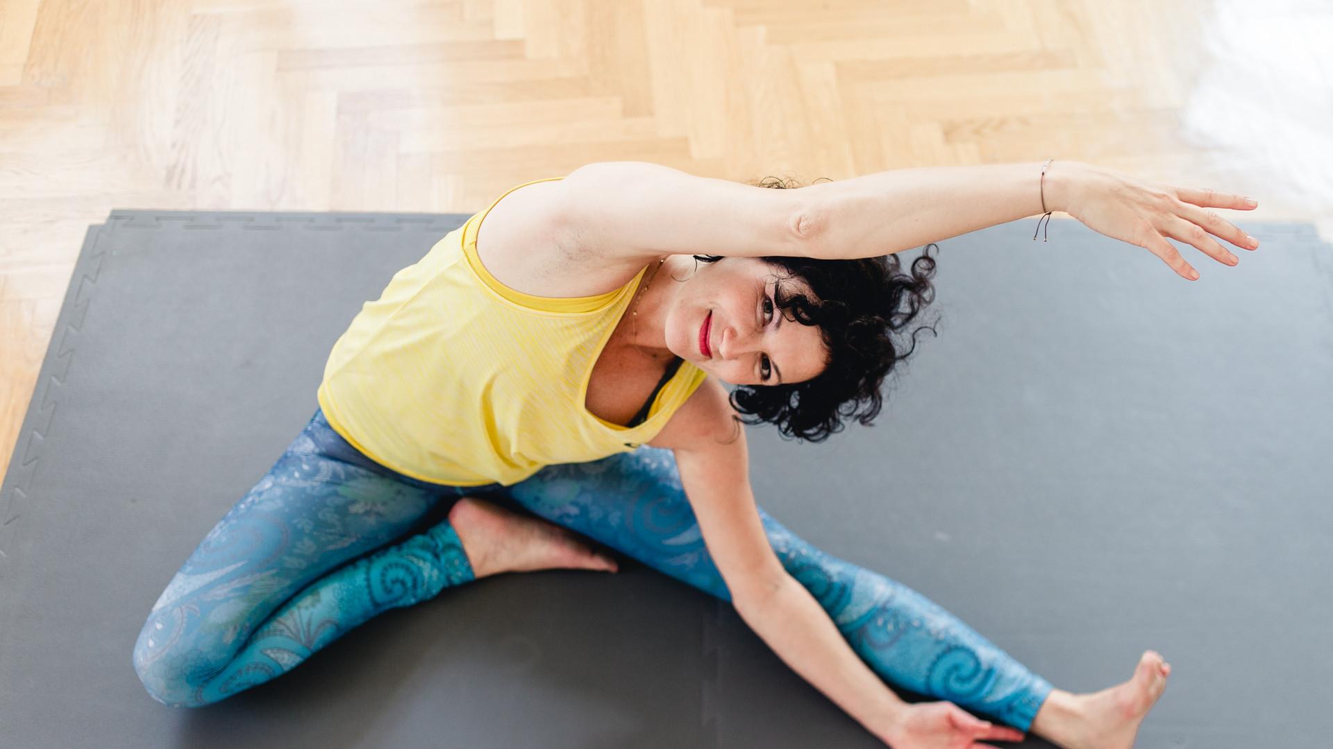 Yoga lateral Stretch Bianca