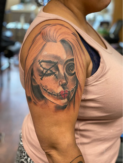 voodoo face