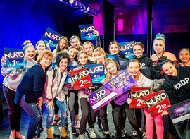 One amazing night last night! Congrats to all our company kids on all your DJ picks and overalls! So proud of you guys! _nuvodanceconvention