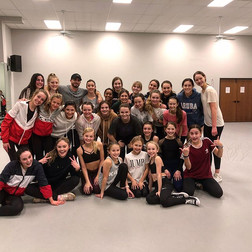 Thank you _rickymaalouf83 for all your inspiration today! We loved having you here! Thank you for class