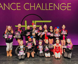 Way to start off the weekend _halloffamedance! Congrats to all our mini and junior soloists!
