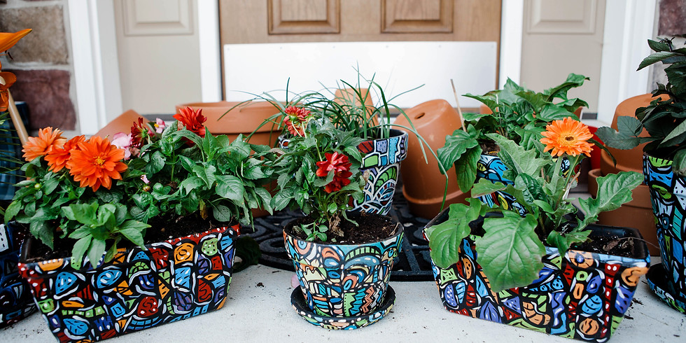 Springfield Manor- Flowerpots (1)