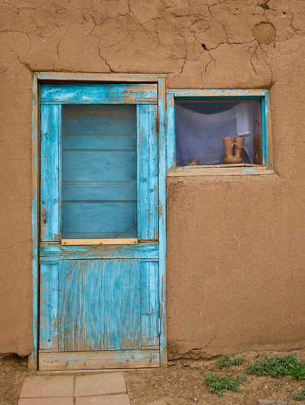 Adobe and Turquoise