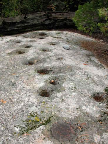 Bedrock Mortars