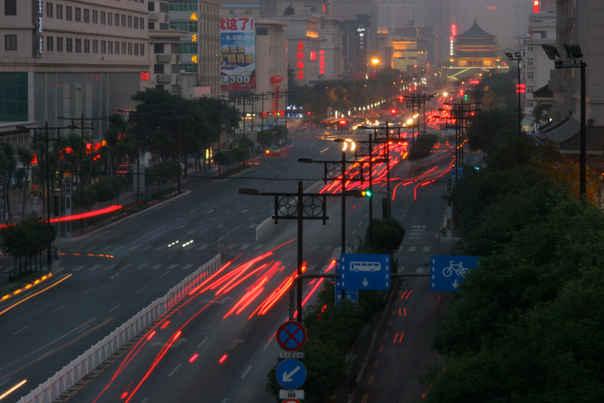 Walled City Traffic