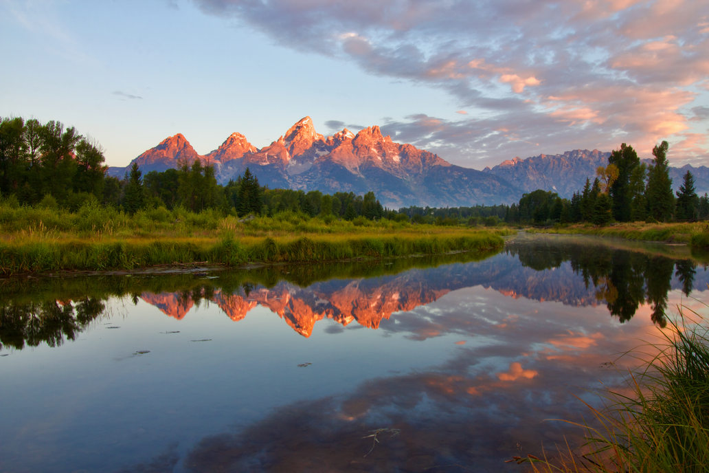 Teton Reflection at Dawn