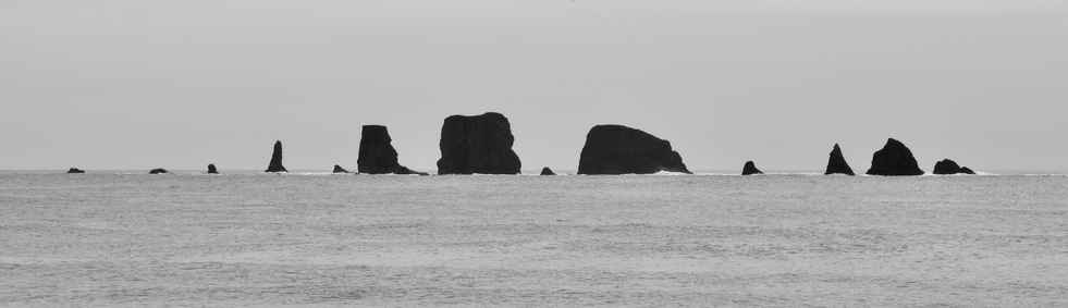 Stones in the Pacific