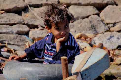 Child on Nile