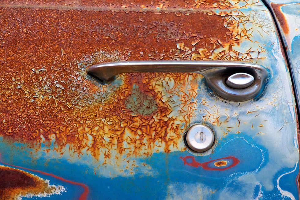 Chevy Nova Decayed