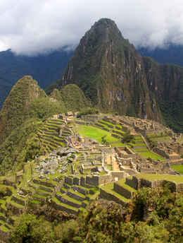 Machu Picchu Classic View