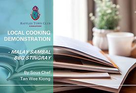 Cafe 27 Aug 2020_Malay Sambal Stingray_I