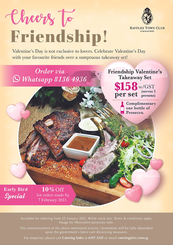Catering Sales – Friendship Valentine's