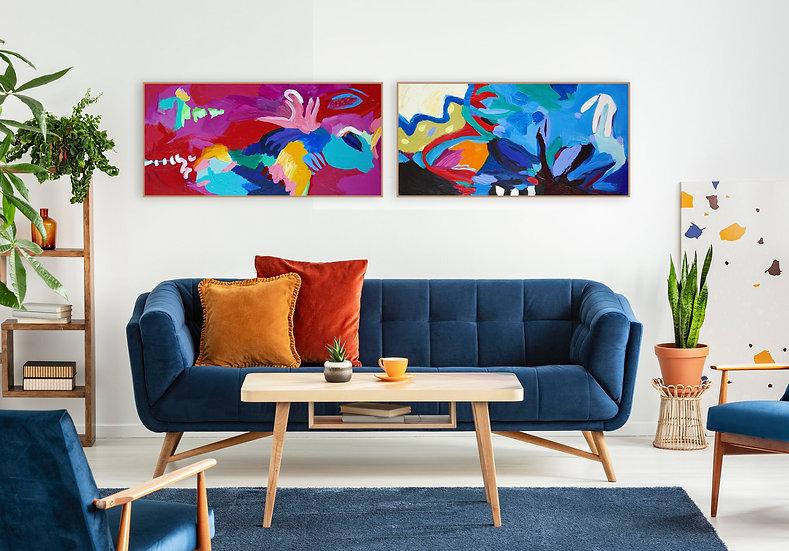Matisse Echoes| Diptych
