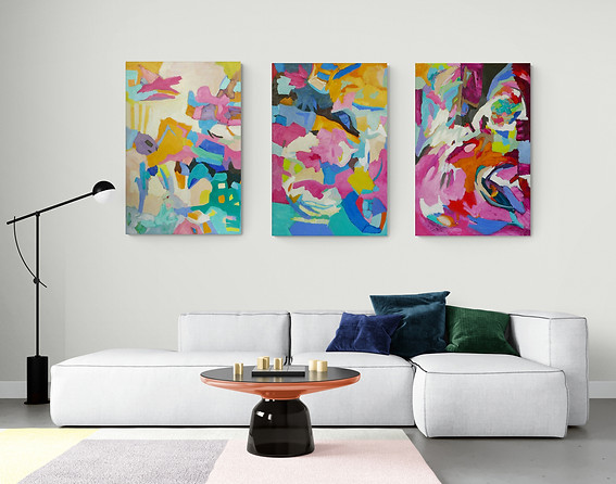 SOLD Epic   Triptych