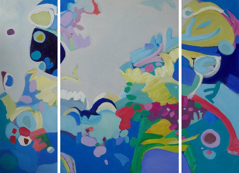 Paradise II | Triptych