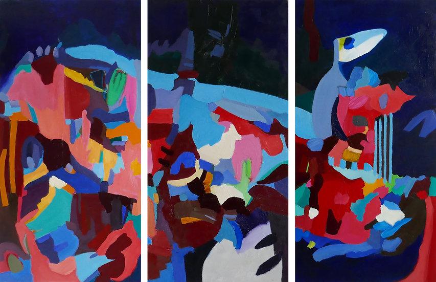 Travelers    Triptych