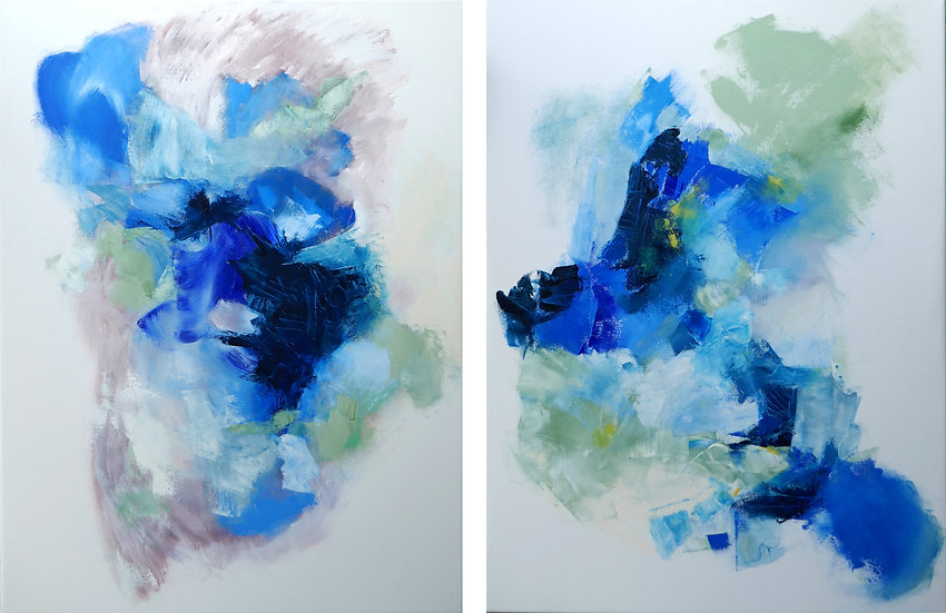 Along The Way   Diptych