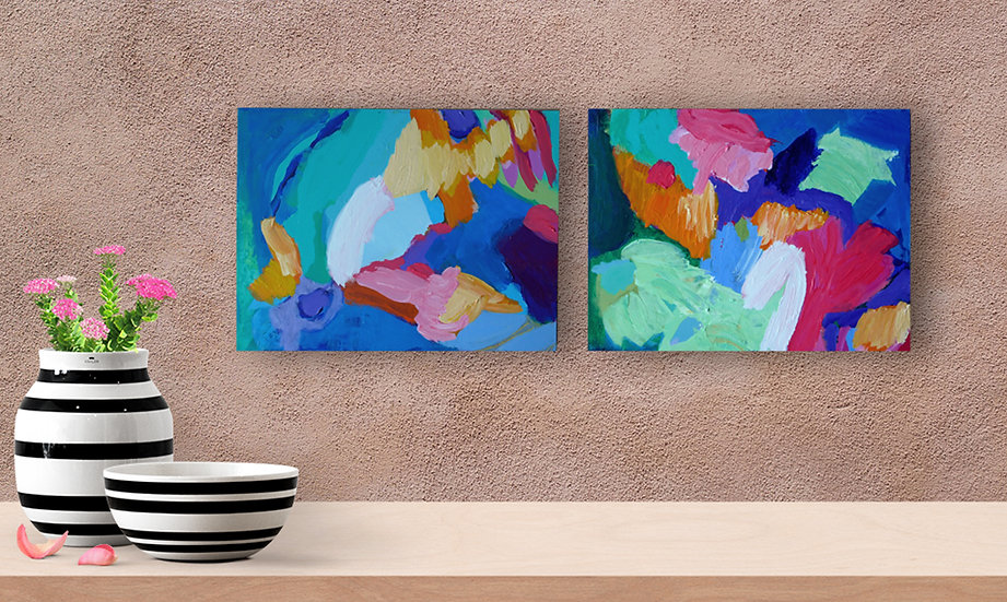 Home Cave Diptych