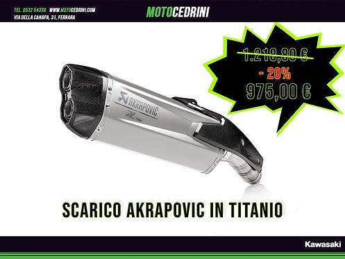 Kawasaki Z H2 (2020) Scarco Akrapovic Titanium