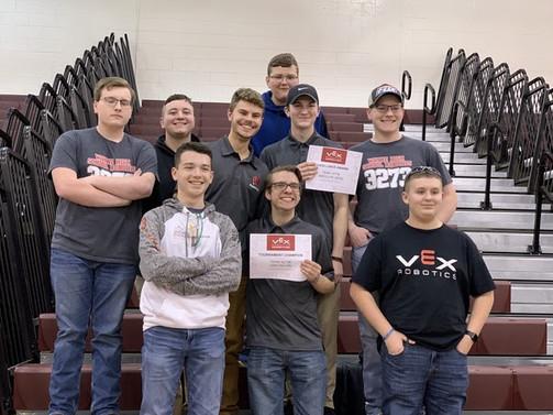 Congratulations to the Robotics Team!
