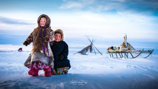 Arctic Sisters,Nenets