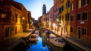 Canalside,Venice