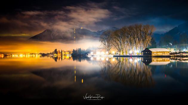 Reflections at Lake Tegernsee