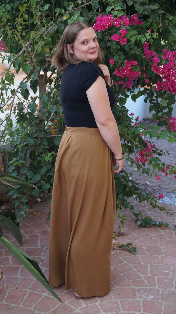 My Favorite Make of 2016: the Winslow Culottes by Helen's Closet