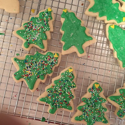 Christmas Cookie Kits for December 16th, 2020