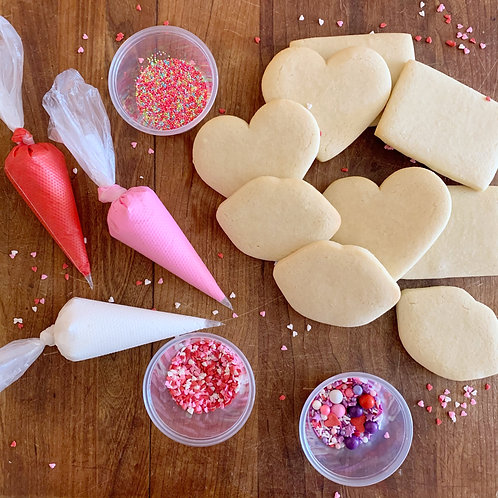 Valentine's Day Cookie Kits