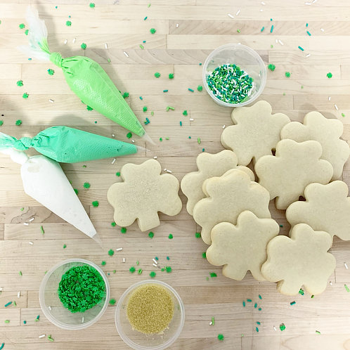 St. Patrick's Day Cookie Kits