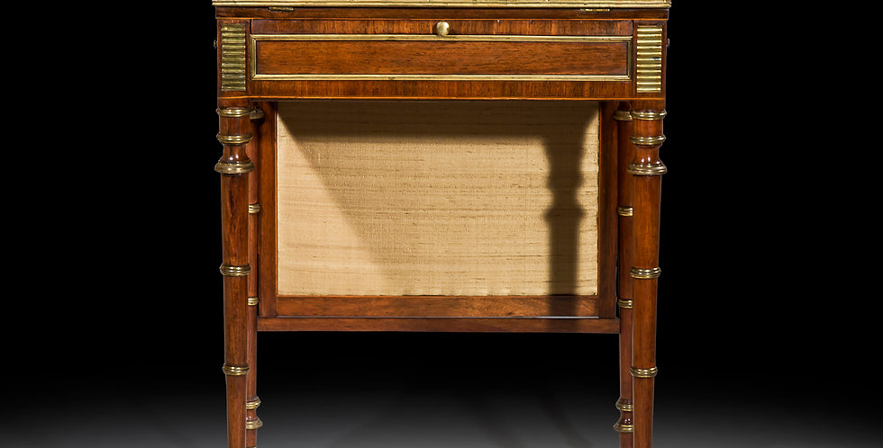 Fine Regency Rosewood Writing Table attributed to John McLean
