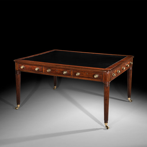 Antique Writing Desk or Regency Period in the manner of Gillows