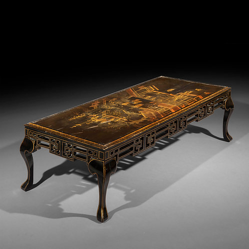 Antique Chinoiserie Coffee Table