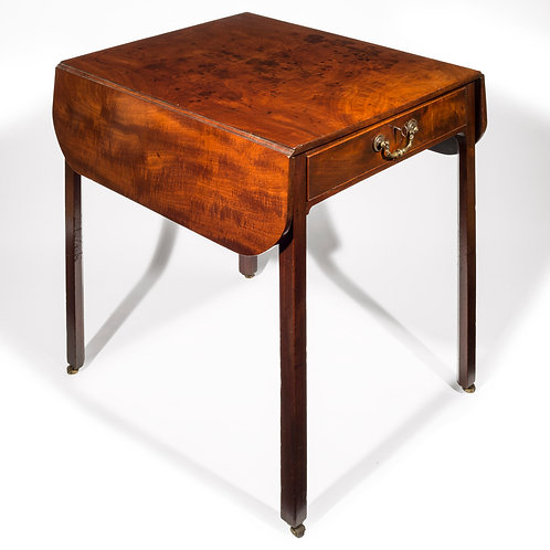 George III Chippendale Mahogany Pembroke Table