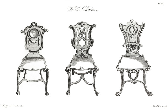 The Art Of The Hall Chair