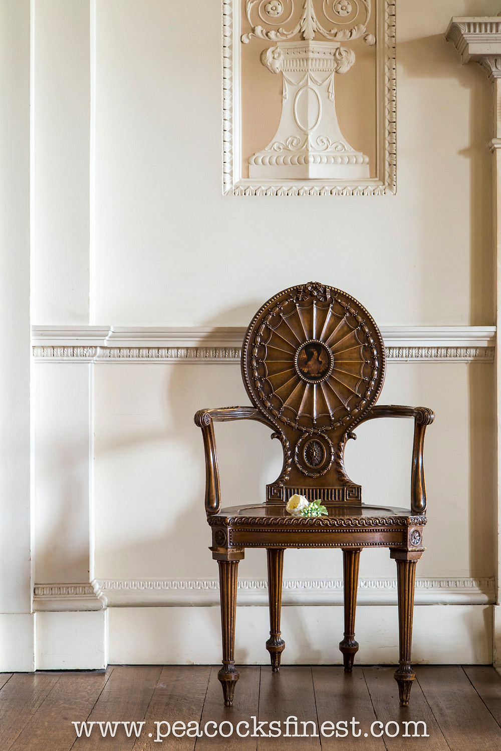 Chippendale's Hall Chair, Nostell Priory
