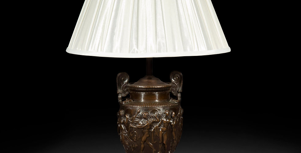 Antique Bronze Townley Vase Lamp