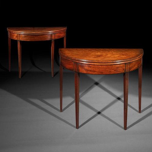 Pair of George III Side Tables