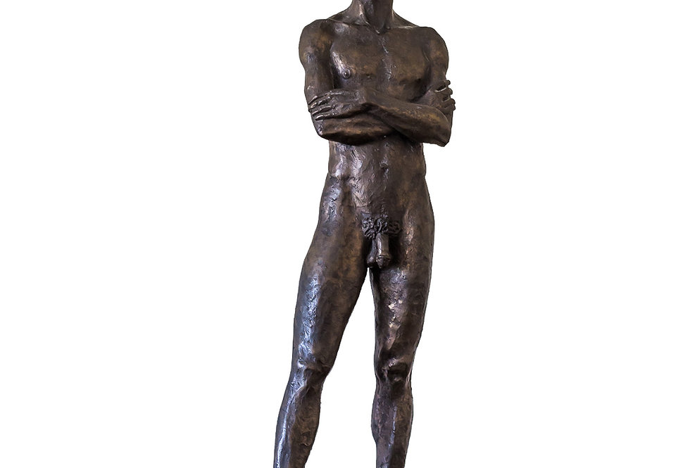 Male Nude by Neil Godfrey, Limited Edition Sculpture