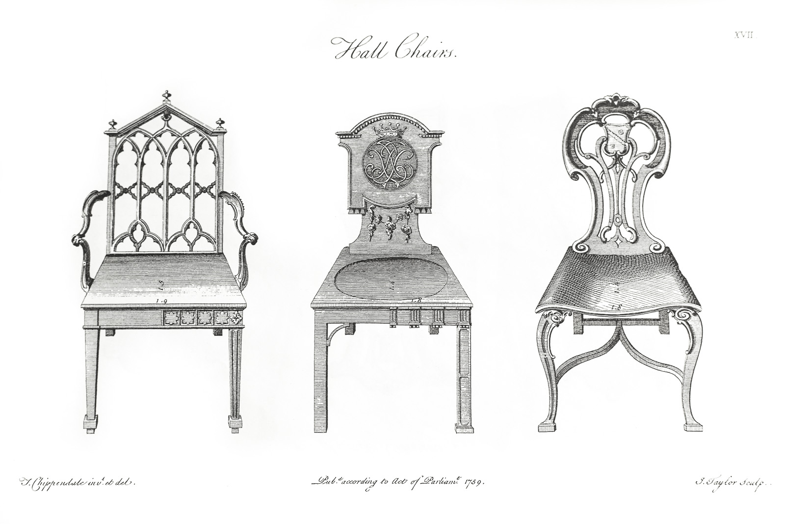 Klismos chair drawing - The Art Of The Hall Chair Home Decor Fine Antique Furniture London Peacock S Finest